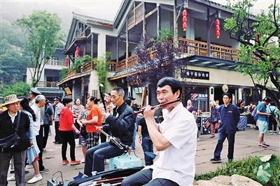 集坐落于重庆主城南山风景区福寿路段,主要由森林公园和商业建筑组成